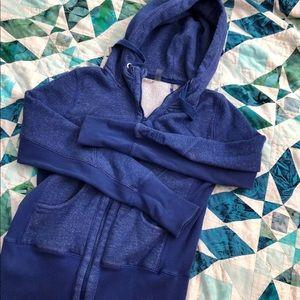 Zella zip up. Blue/purple - blueberry color.
